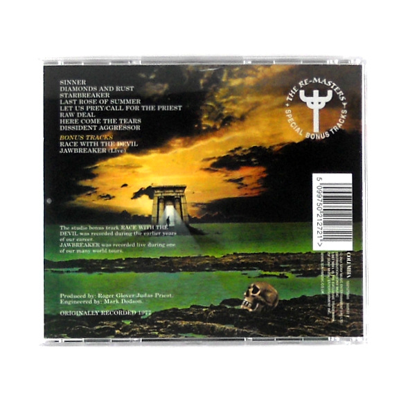 JUDAS PRIEST sin after sin CD back