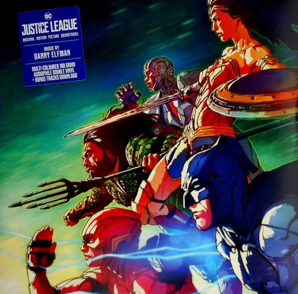 ELFMAN, DANNY justice league LP