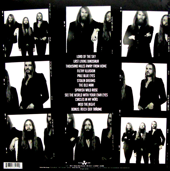 KADAVAR berlin LP back