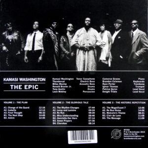 WASHINGTON, KAMASI the epic - box set LP back