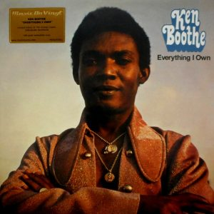 BOOTHE, KEN everything I own LP