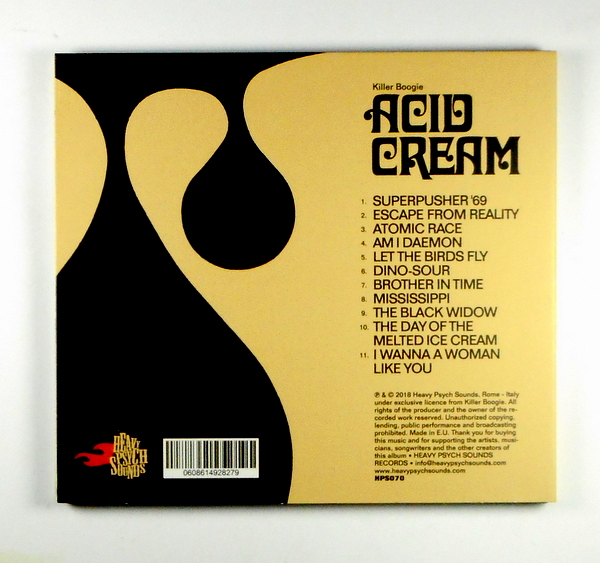 KILLER BOOGIE acid cream CD