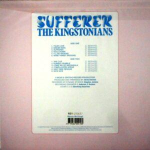 KINGSTONIANS, THE sufferer LP