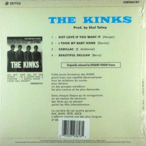KINKS, THE got love if you want it 7""