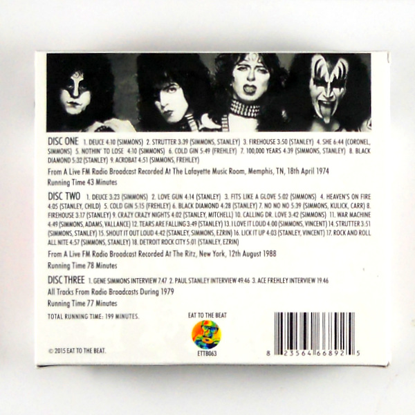 KISS transmission impossible CD