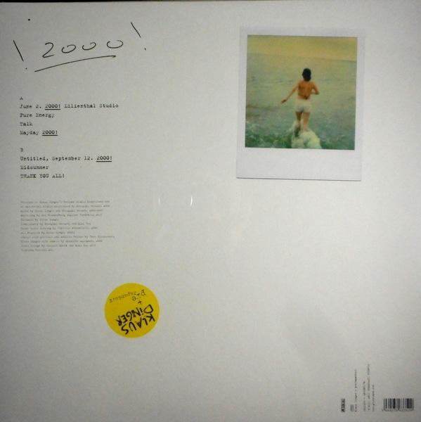 NEU! (KLAUS DINGER) 2000! LP