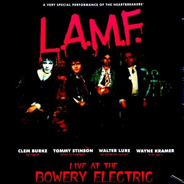 THUNDERS, JOHNNY (L.A.M.F.) live at the bowery club LP