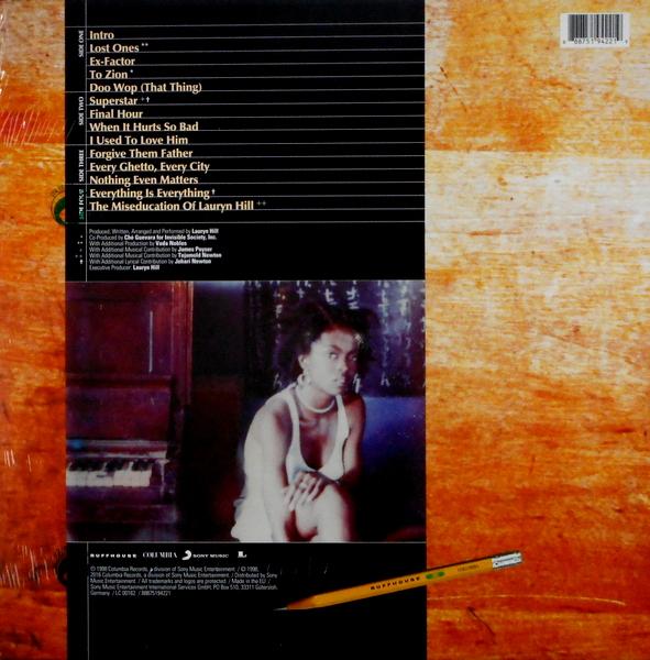 HILL, LAURYN the miseducation of Lauryn Hill LP