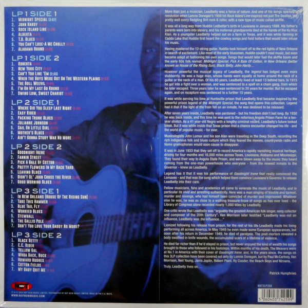 LEADBELLY midnight special LP