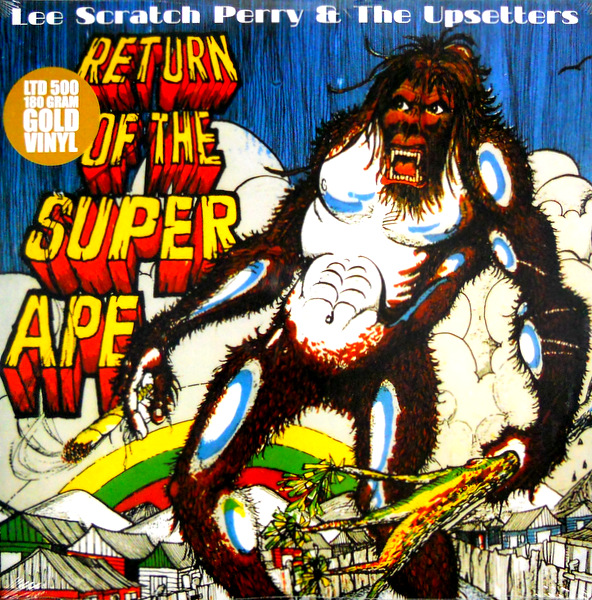 PERRY, LEE & THE UPSETTERS return of the super ape LP