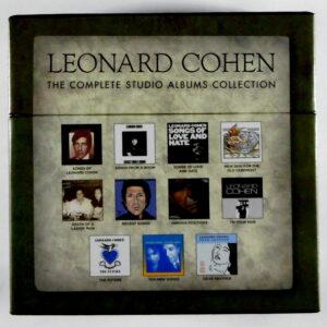 COHEN, LEONARD complete studio album - box set CD