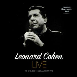 COHEN, LEONARD live the complex - los angeles 1993 LP