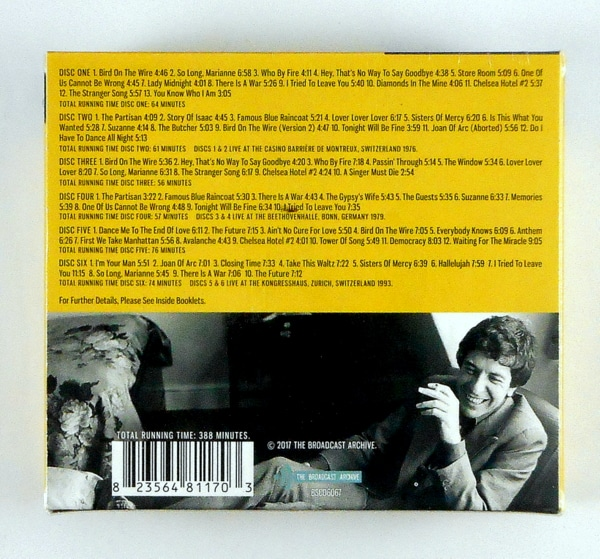 COHEN, LEONARD the archives - CD box set