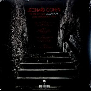 COHEN, LEONARD the end of love - vol one LP