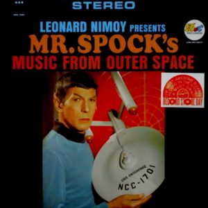 NIMOY, LEONARD Mr Spock's music from outer space LP