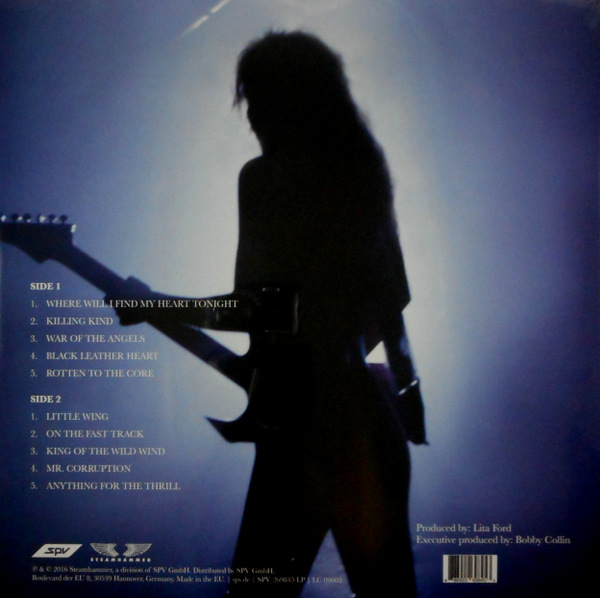 RUNAWAYS, THE (LITA FORD) time capsule LP