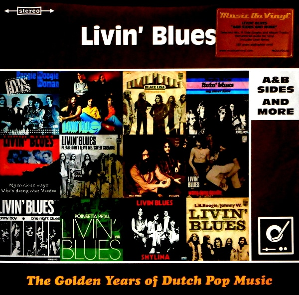 LIVIN' BLUES golden years of dutch pop LP