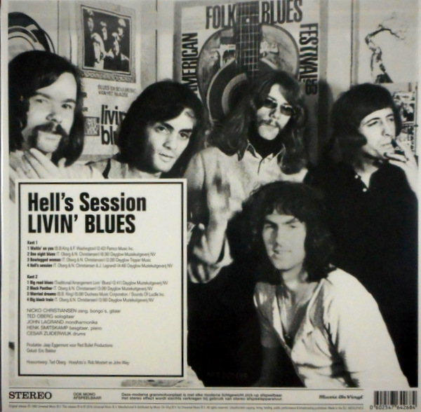 LIVIN' BLUES hell's session LP