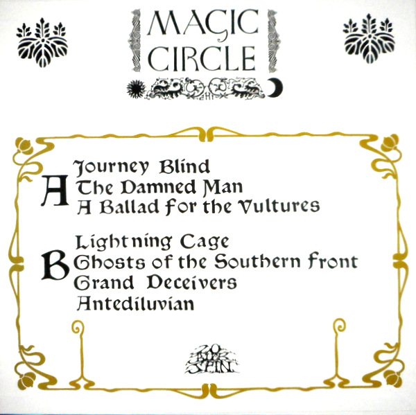 MAGIC CIRCLE journey blind LP