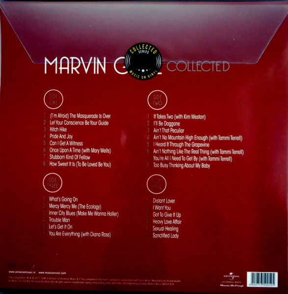 GAYE, MARVIN marvin gaye collected LP