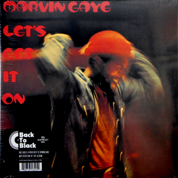GAYE, MARVIN let's get it on LP