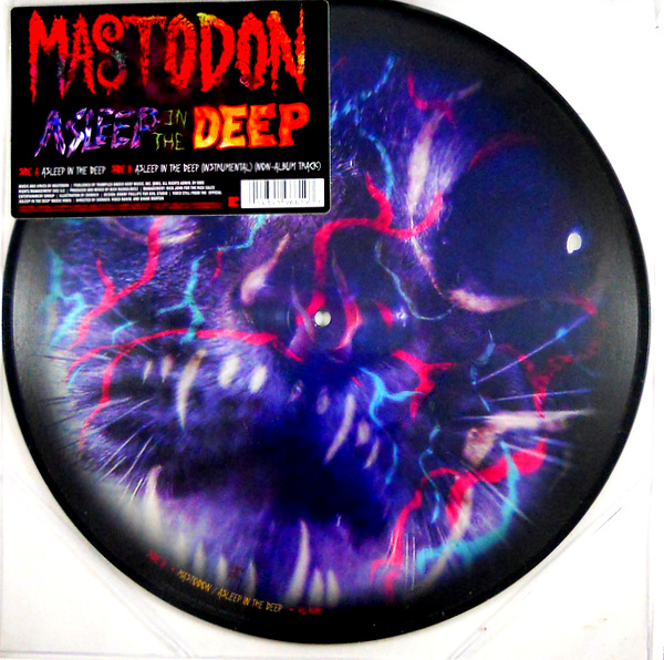 """MASTODON asleep in the deep 12"""" inch picture disc"""