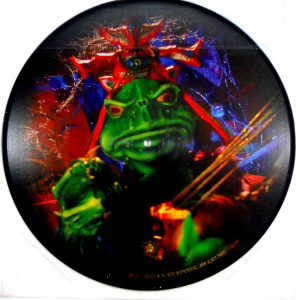 "MASTODON asleep in the deep 12"" inch picture disc back"