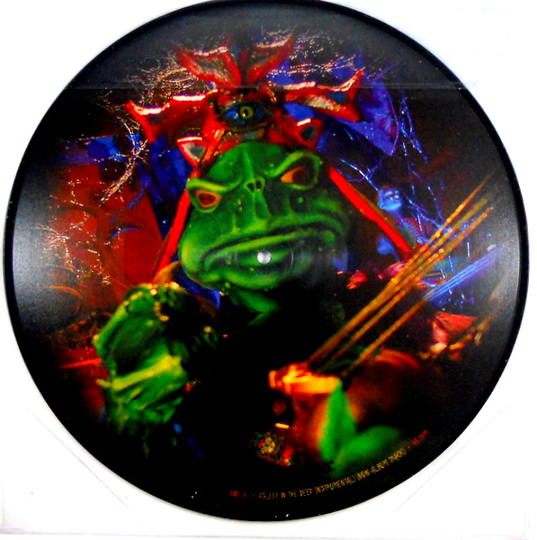 """MASTODON asleep in the deep 12"""" inch picture disc back"""
