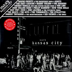 VARIOUS ARTISTS max's kansas city - 1976 and beyond LP