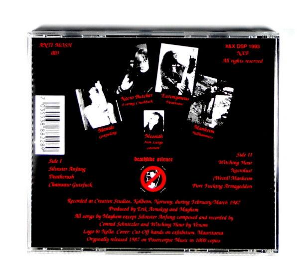MAYHEM deathcrush CD back