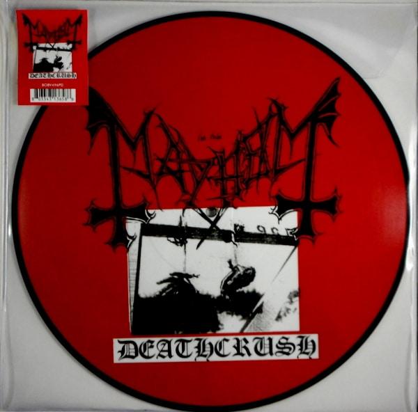 MAYHEM deathcrush - pic disc LP