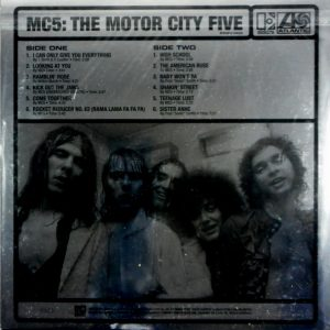 MC5 the motor city five LP