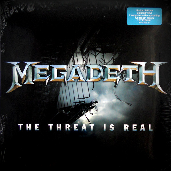 "MEGADETH the threat is real 12"" inch"