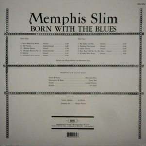 MEMPHIS SLIM born with the blues LP