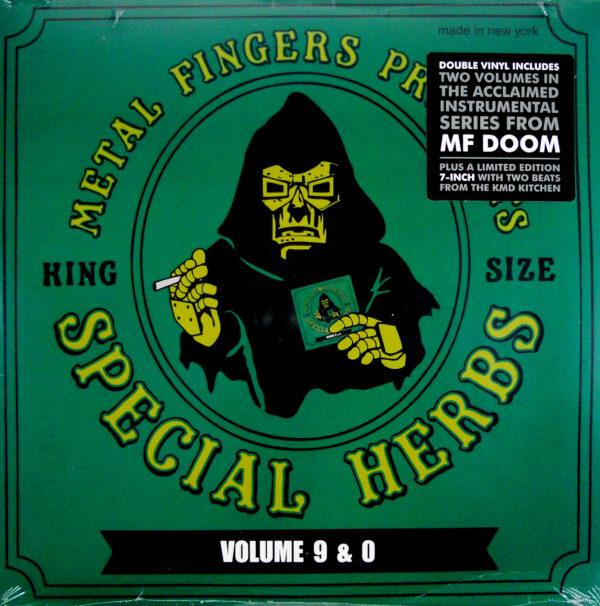 MF DOOM presents special herbs vol 9 & 0 LP