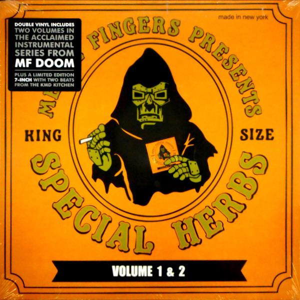MF DOOM presents special herbs vol 1 & 2 LP