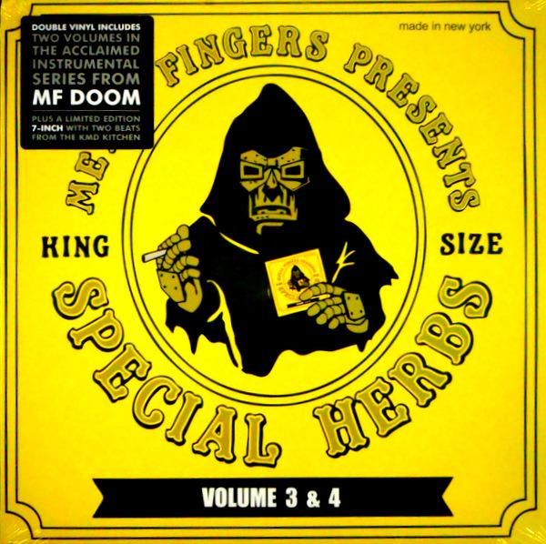 MF DOOM presents special herbs vol 3 & 4 LP