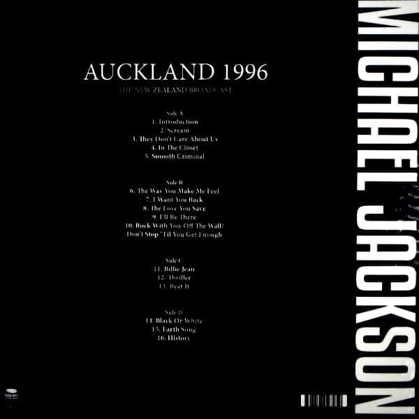 JACKSON, MICHAEL auckland 1996 LP