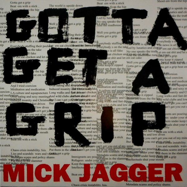 ROLLING STONES, THE (MICK JAGGER) gotta get a grip 12""