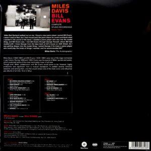 DAVIS, MILES & BILL EVANS complete studio recordings LP