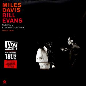 DAVIS, MILES & BILL EVANS complete studio recordings LP