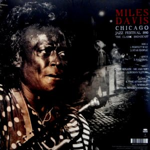DAVIS, MILES chicago jazz festival 1990 LP