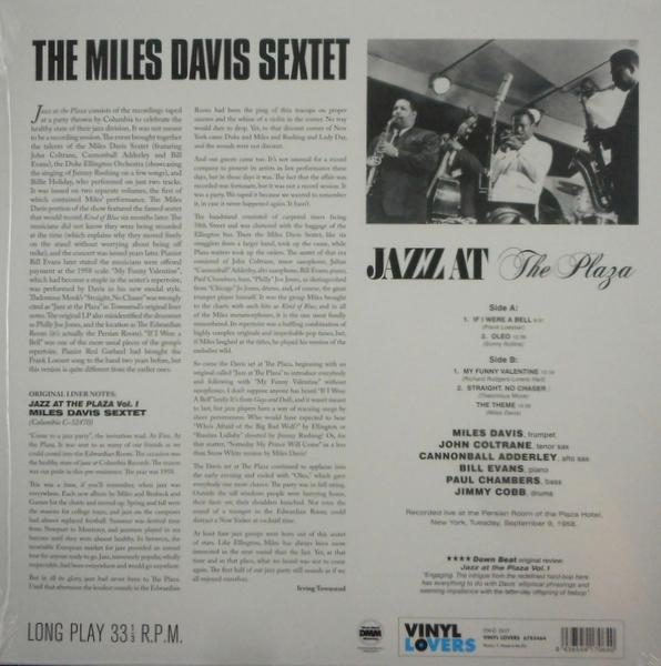 DAVIS, MILES jazz at the plaza LP