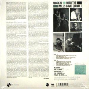 DAVIS, MILES workin' with the miles davis quintet LP