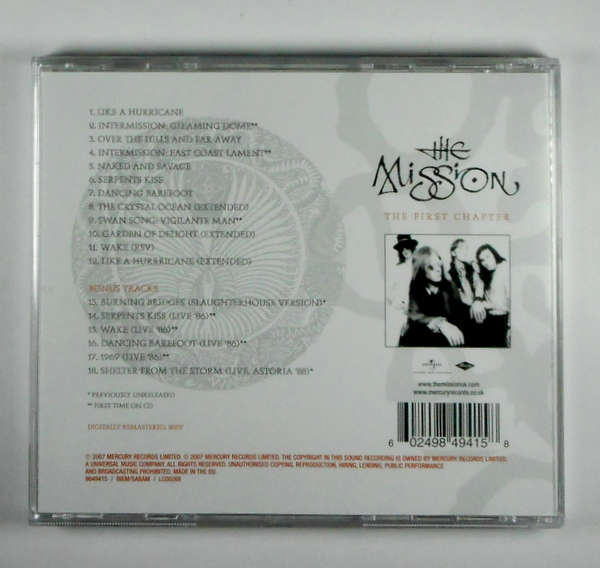 MISSION, THE the first chapter CD