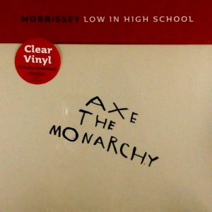 "MORRISSEY low in high school - 7"" box set LP"