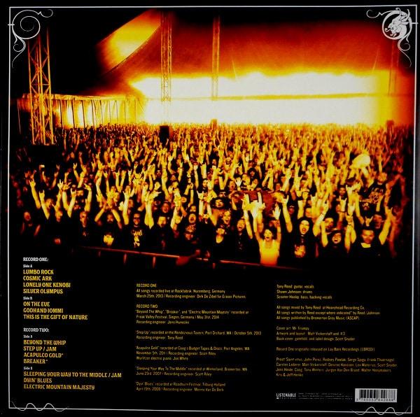 MOS GENERATOR in concert 2007-2014 - ltd edition LP