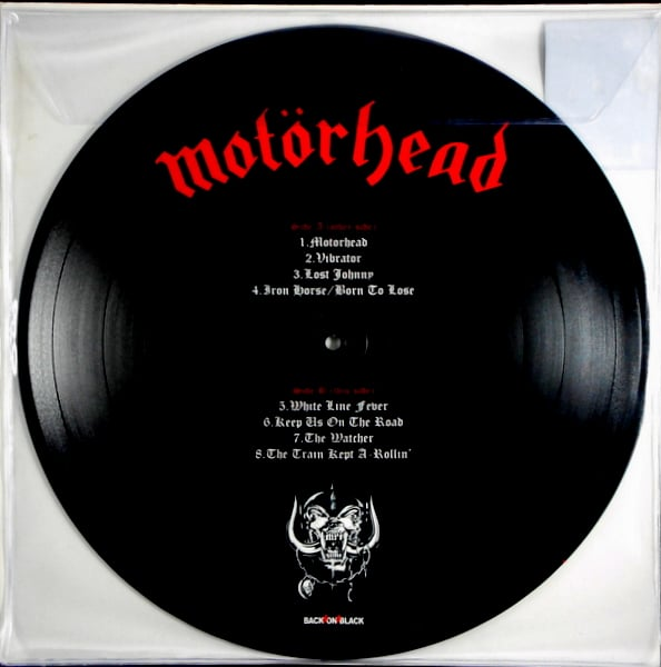 MOTORHEAD motorhead - pic disc LP
