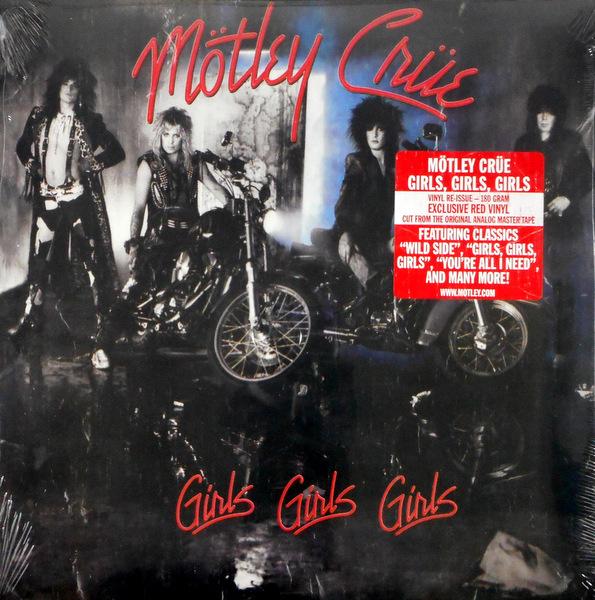 MOTLEY CRUE girls girls girls - col vinyl lp