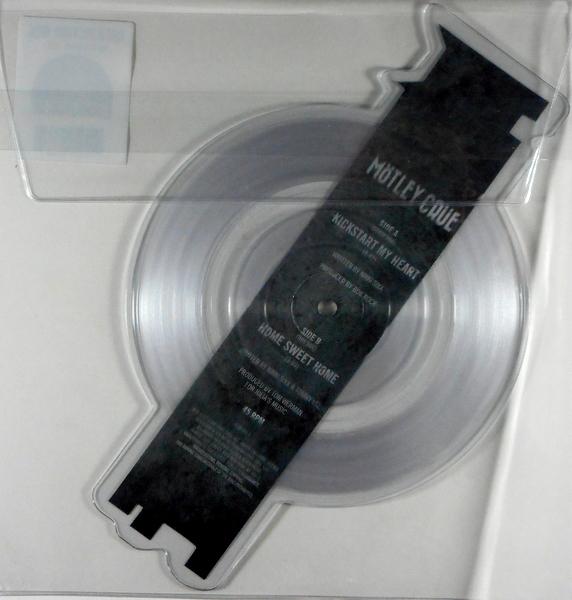 "MOTLEY CRUE kickstart my heart - pic disc 7"""